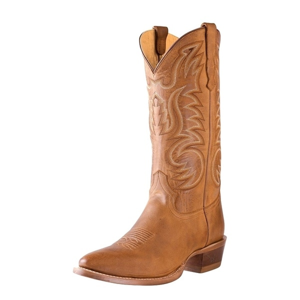 Outlaw Western Boots Men Medium Round Toe Hand Pegged Alamo Meil