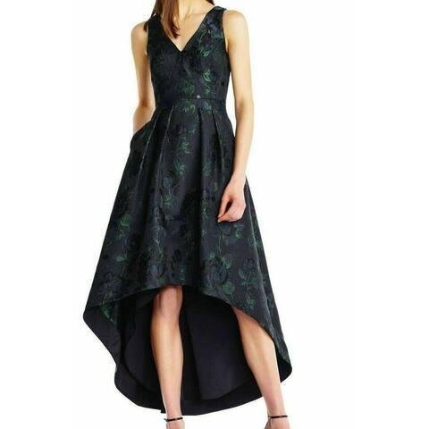 Aidan Mattox Women's Dress A-Line High Low Shimmer