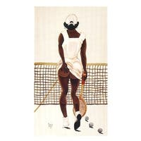 ''Second Set'' by Annie Lee African American Art Print (22.5 x 13 in.)