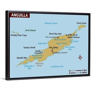 Map of Anguilla - Multi-Color | Overstock.com Shopping - The Best Deals Map Of Anguilla on map of montserrat, map of st barts, map of martinique, map of caribbean, map of antigua, map of st maarten, map of jamaica, map of french southern territories, map of aruba, map of the bahamas, map of the south sandwich islands, map of dominica, map of guadeloupe, map of cuba, map of st martin, map of argentina, map of barbados, map of costa rica, map of nepal,