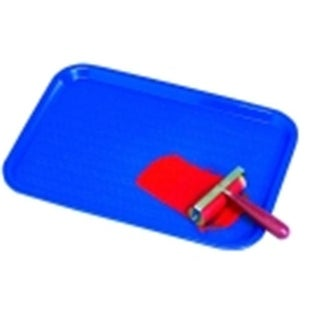 Vollrath Inking & Paint Tray - 12 x 16 in. - Royal Blue
