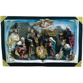 "Alpine GXT846 Nativity Bible, Multicolored, 10"""