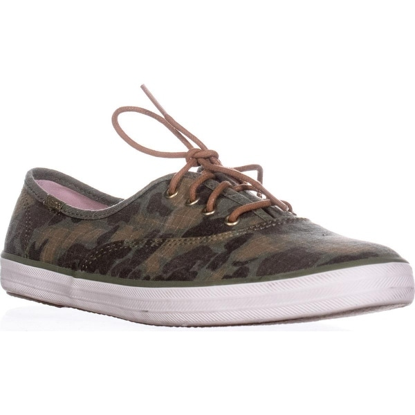 836064694af4c Shop Keds Champion Camo Ripstop Fashion Sneaker, Olive - 9 us / 40 ...