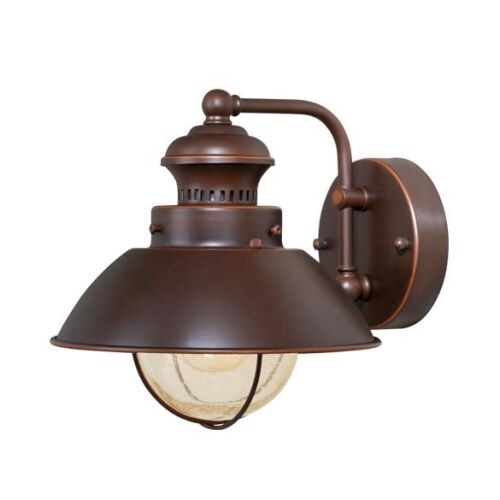 Vaxcel Lighting OW21581 Harwich 1 Light Outdoor Wall Sconce - 8 Inches Wide