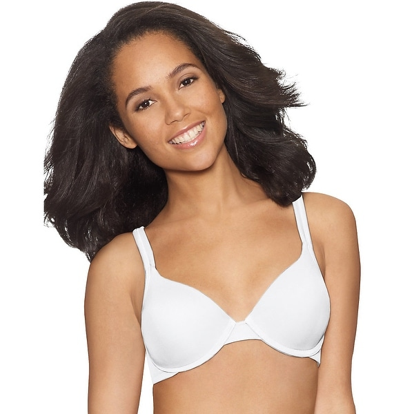 b0221d33f79b9 Shop Hanes Fit Perfection® Lift Comfort Shape Underwire Bra - Size - 36B -  Color - White - Free Shipping On Orders Over  45 - Overstock - 13901284