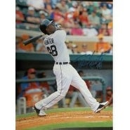 Signed Hunter Torii Detroit Tigers 11x14 Photo autographed