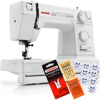 Janome HD1000 Heavy Duty Sewing Machine + 4-Piece VIP Package