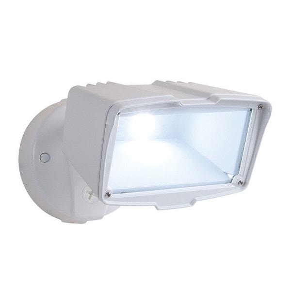 All Pro Fsl203tw Hardwired Led Flood Light With Switch Control White Free Shipping Today 23613983