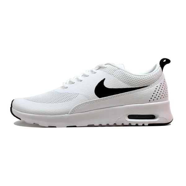6b2a39b04cec0b Shop Nike Women s Air Max Thea White Black 599409-103 - Free ...