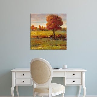 Easy Art Prints Tim OToole's 'Field in Fall' Premium Canvas Art