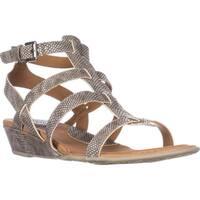 B.O.C Born Heidi Strappy Comfort Sandals, Grey