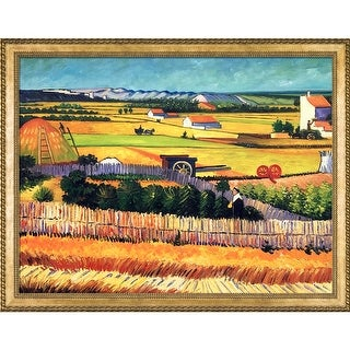 Vincent Van Gogh 'The Harvest' Hand Painted Oil Reproduction