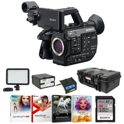 Sony PXWFS5M2 XDCAM Super 35 Camera System Professional Bundle