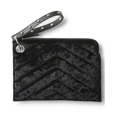 Aeropostale Womens Velour Clutch Handbag Purse - Extra Small (16 in. & Under)