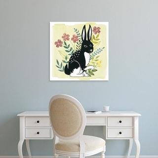 Easy Art Prints Grace Popp's 'Floral Forester IV' Premium Canvas Art