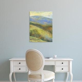 Easy Art Prints H. Thomas's 'Mountain View III' Premium Canvas Art