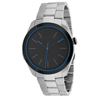Movado Men's Bold 3660003 Black Dial Watch
