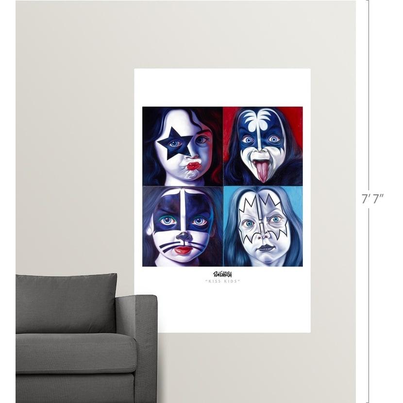 Poster Print Wall Art entitled Ron English