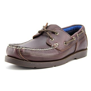 Timberland Piper Cover  Men  Moc Toe Leather Brown Boat Shoe
