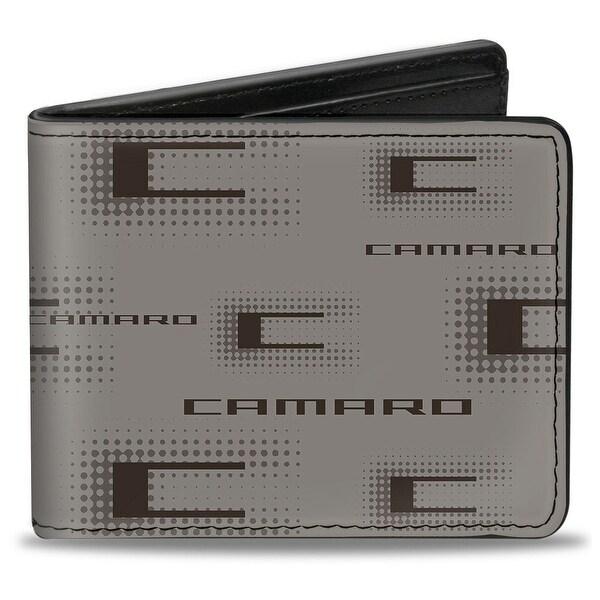 Camaro Performance 03 Camaro W Multi C Gray Black Bi Fold Wallet - One Size Fits most