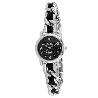 Coach Women's Madison 14502725 Black Dial watch
