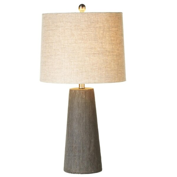 Set Of 2 Cross Hatch Texture Decorative Table Lamp With 3 Way Switch