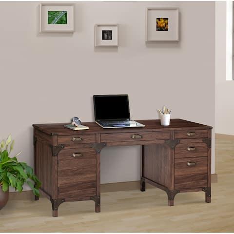 Walnut 63-inch Executive Desks