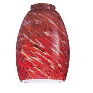 """Westinghouse 8141300 Chili Pepper Glass Shade, 2-1/4"""""""