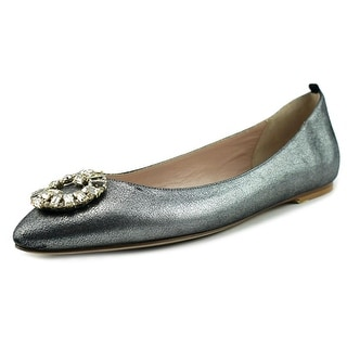 SJP Betty   Round Toe Leather  Ballet Flats