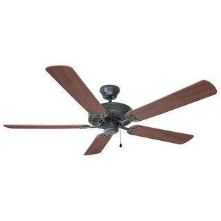 "Design House 154153 Transitional 52"" Ceiling Fan in Oil Rubbed Bronze Finish and Light Kit Adaptable from the Millbridge"