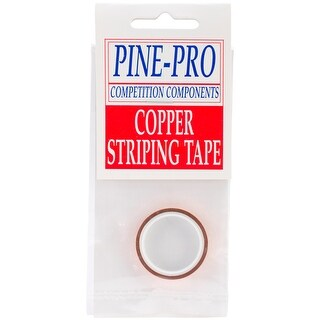 "Pine Car Derby Pinstripe .1875""X120""-Copper - GOLD"