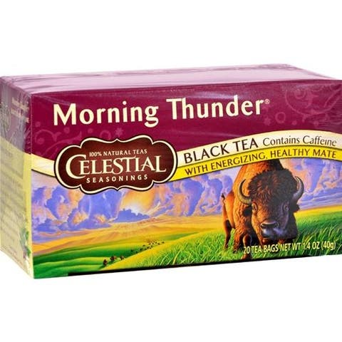 Celestial Seasonings - Morning Thunder Tea ( 6 - 20 BAG)