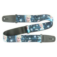 Disney Frozen Elsa the Snow Queen Poses PERFECT AND POWERFUL Guitar Strap