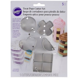 Treat Pops Cutters 5/Pkg-