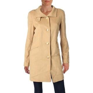 Lauren Ralph Lauren Womens Car Coat Winter Wool