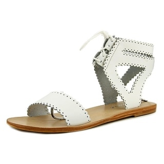 Matisse Natasha Women Open-Toe Leather White Slingback Sandal