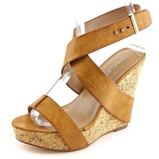 Charles By Charles David Arlington Women Open Toe Synthetic Wedge Sandal