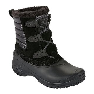 The North Face Women's Shellista II Shorty Boot TNF Black/Smoked Pearl Grey