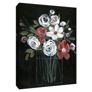 """PTM Images 9-148720  PTM Canvas Collection 10"""" x 8"""" - """"Chiaroscuro II"""" Giclee Flowers Art Print on Canvas"""