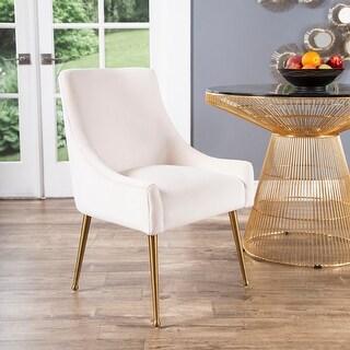 Link to Abbyson Bevie Velvet Dining Chair Similar Items in Dining Room & Bar Furniture