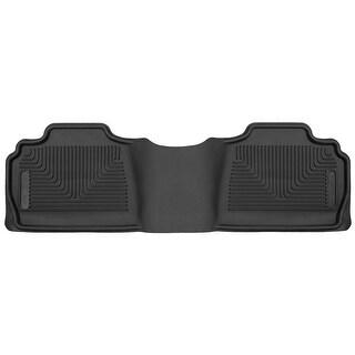 Husky X-act Contour 2014 Cadillac Escalade ESV 2nd Row Black Rear Floor Mats/Liners