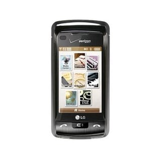 OEM Verizon Snap-On Case for LG enV Touch VX11000 - Chrome