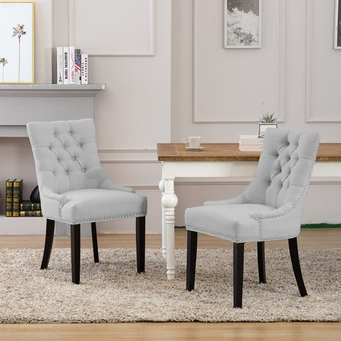 Grandview Tufted Dining Chair (Set of 2) Upholstered