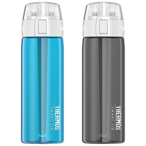 19ca54a620 Thermos 24 oz. Connected Hydration Active Sport Water Bottle with Smart Lid  - 24 oz