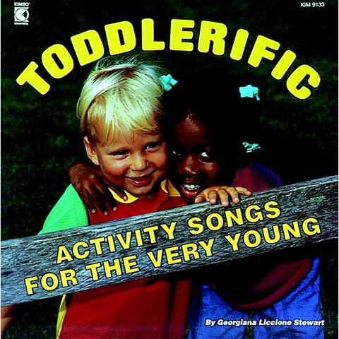 Kimbo Educational Toddlerific CD, Ages 2 and Up