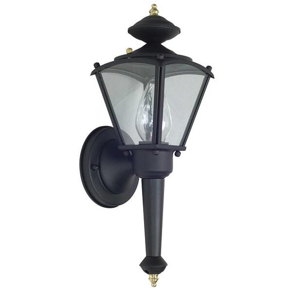 """Shop Sunset Lighting F6884 1-Light 15"""" Height Outdoor Wall"""