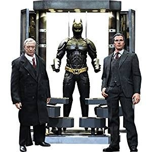 Batman The Dark Knight Movie Masterpiece Batman Armory With Bruce Wayne & Alfred Pennyworth 1:6 Collectible Figure Set