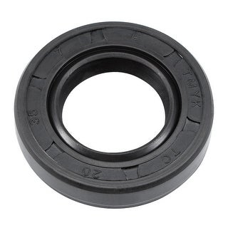 Oil Seal, TC 20mm x 35mm x 7mm, Nitrile Rubber Cover Double Lip - 20mmx35mmx7mm