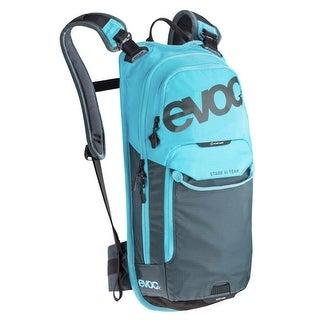 Evoc Stage 6l Team Neon Blue/Slate Performance Hydration Pack + 2L Bladder