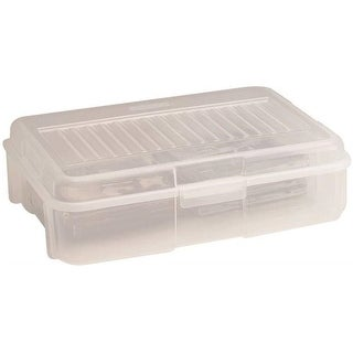 Rubbermaid RMOC018001 Stackable Storage Container, 1.8 Gallon